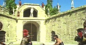 La Alcazaba de Almería en la película Cleopatra