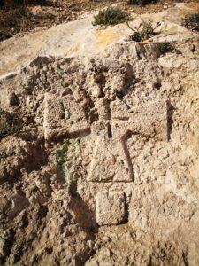 Cruz Templaria en el Cerro de San Cristobal. Gines Valera