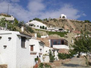 Imagen de Teque, pueblo de Almería.