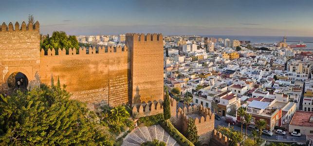 Almería desde la alcazaba