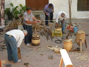 Vecinos del pueblo de Terque, en Almería.