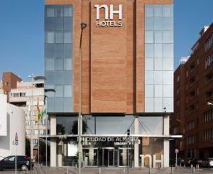Hotel NH Almería capital.