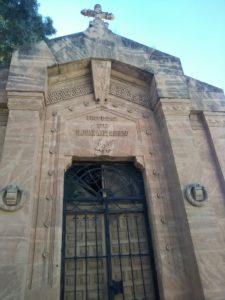 El cementerio de San José.