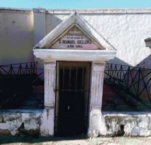 El cementerio de San José, ubicado en Almería capital.
