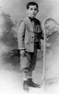 Federíco García Lorca de niño en Almería