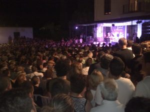 Ambiente en el Festival Flamenco de Fondón, Almería. Fuente. Revista Digital de Fondón