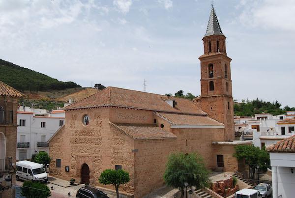 Iglesias de San Andrés en Fondón, Almería. Fuente. Almería360 - Almeria is  Different