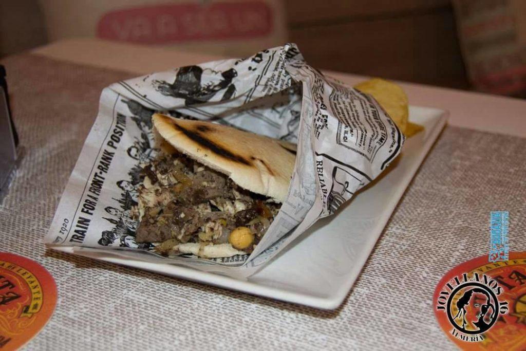 Kebab de Pringá - Bar Jovellanos 16