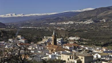 El Pueblo de Fondón, Almería. Fuente. Descubre la Alpujarra