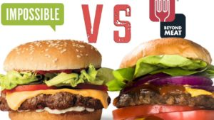 Beyond Burger vs Impossible Burger. Fuente. Plant Based News