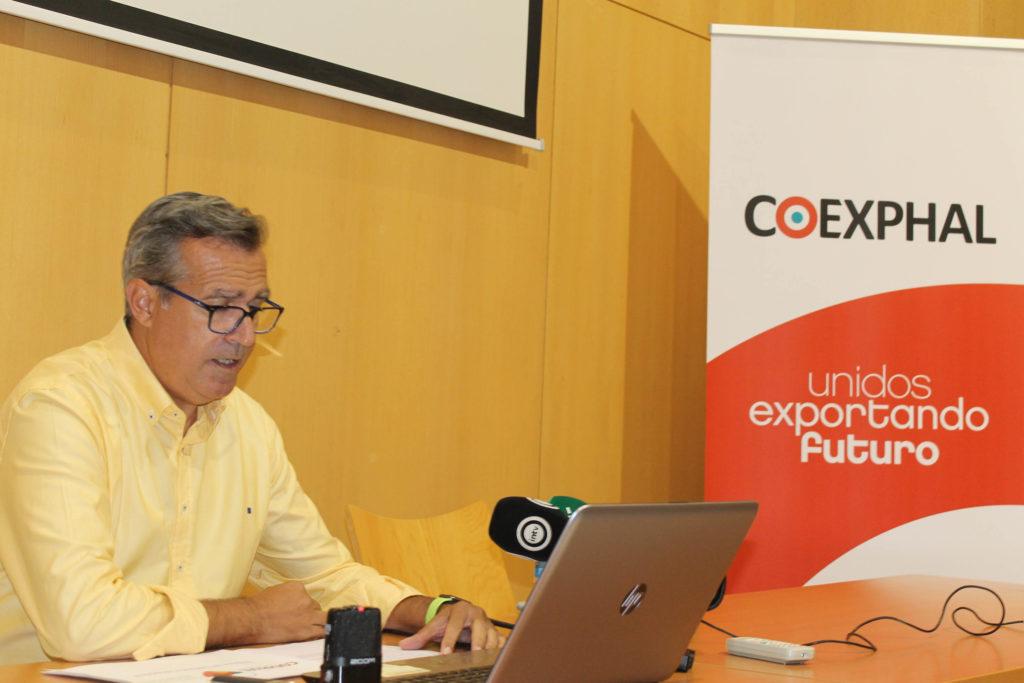 Luis Miguel Fernández, gerente de Coexphal Almería