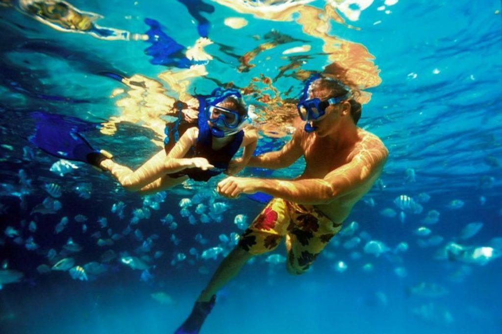 Snorkel - juegos de playa