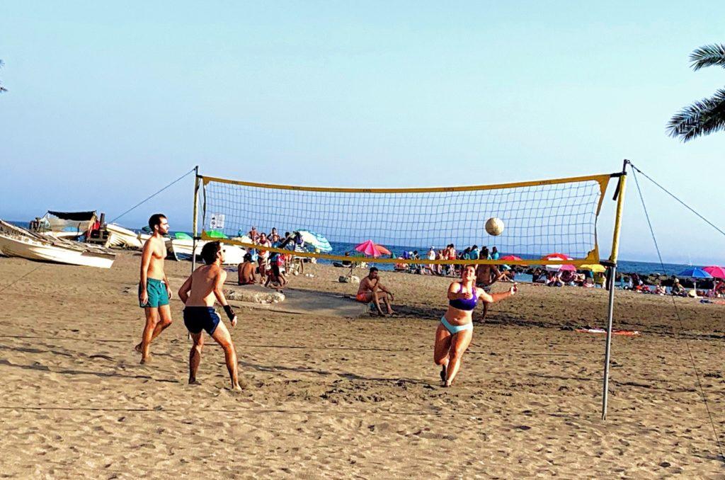 voley playa - juegos de playa