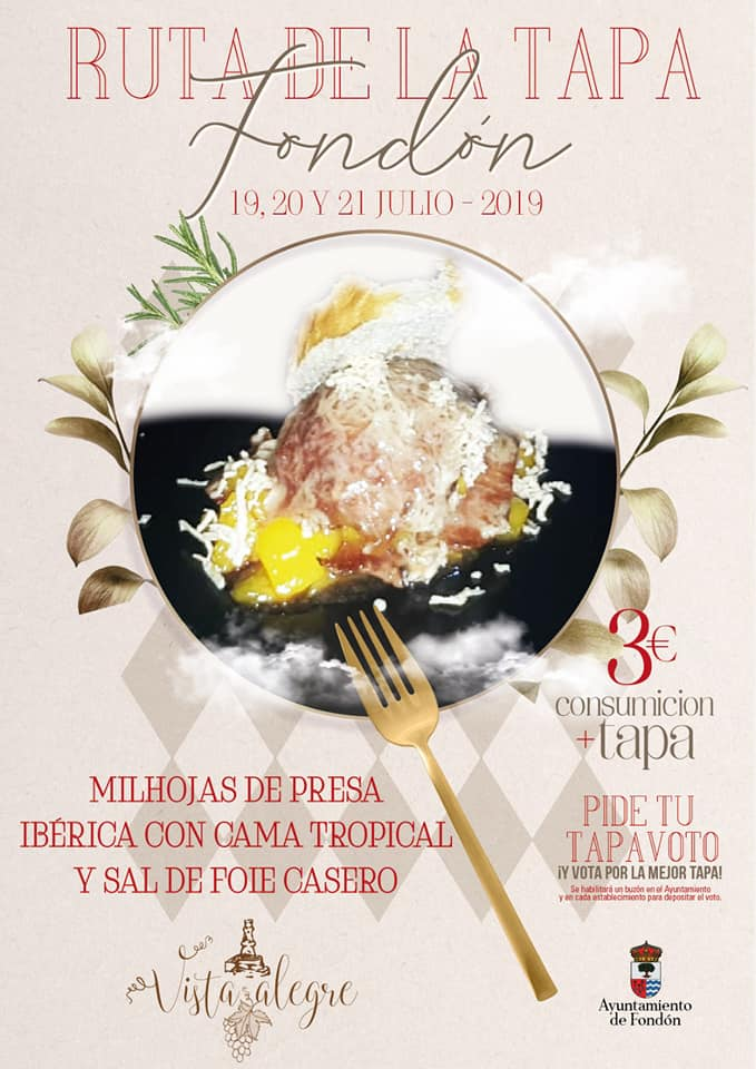 Vista Alegre: Milhojas de presa ibérica con cama tropical y sal de foie casero