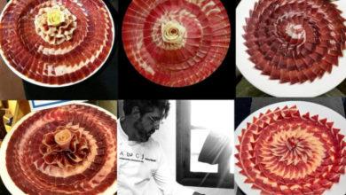 Rafael Madrid cortador de jamón