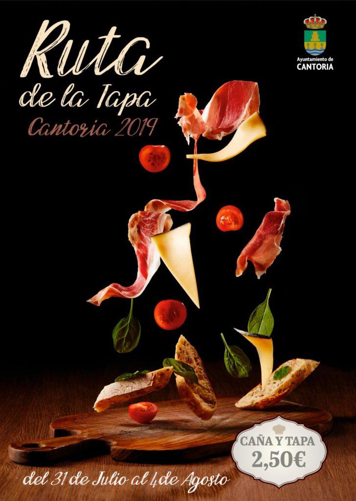 Poster Ruta de la Tapa de Cantoria 2019