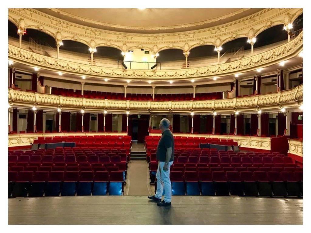 Ignacio Mañas en el Teatro Cervantes