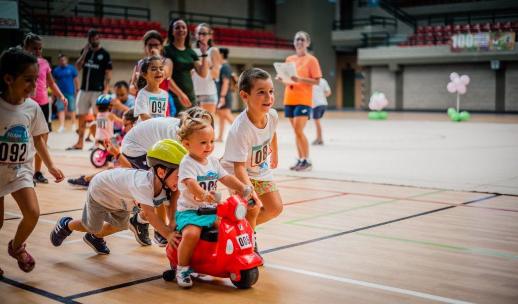 100 horas del deporte para bebés