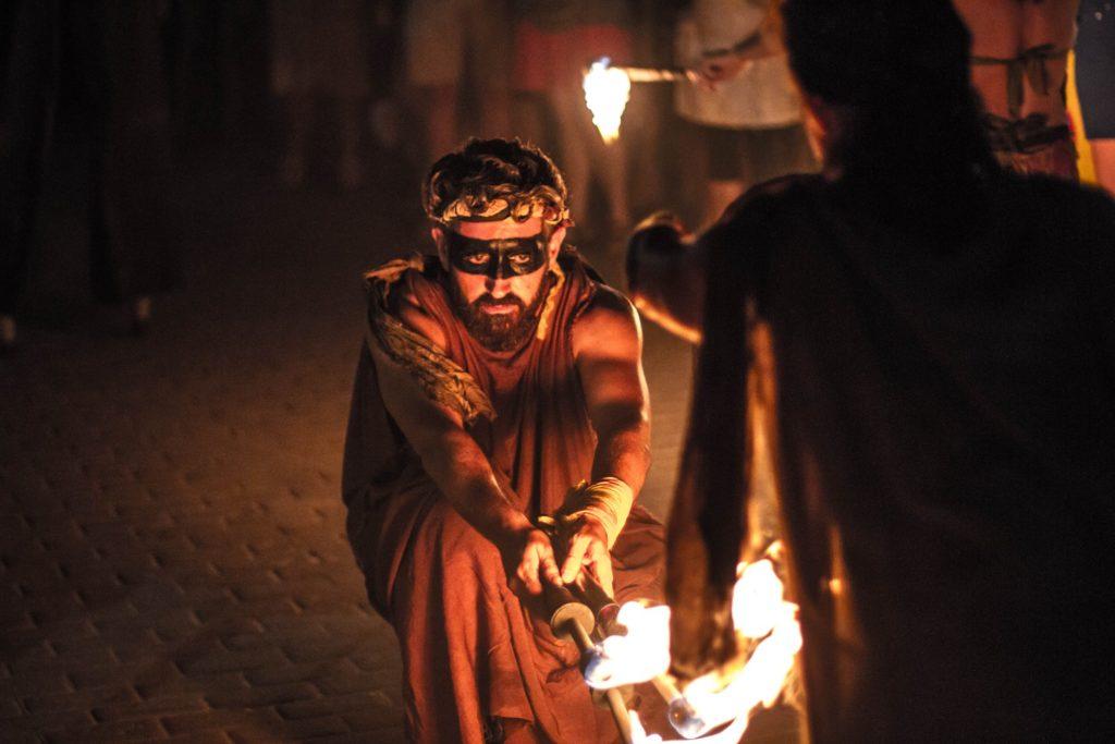 Fuego en la Noche de las Velas