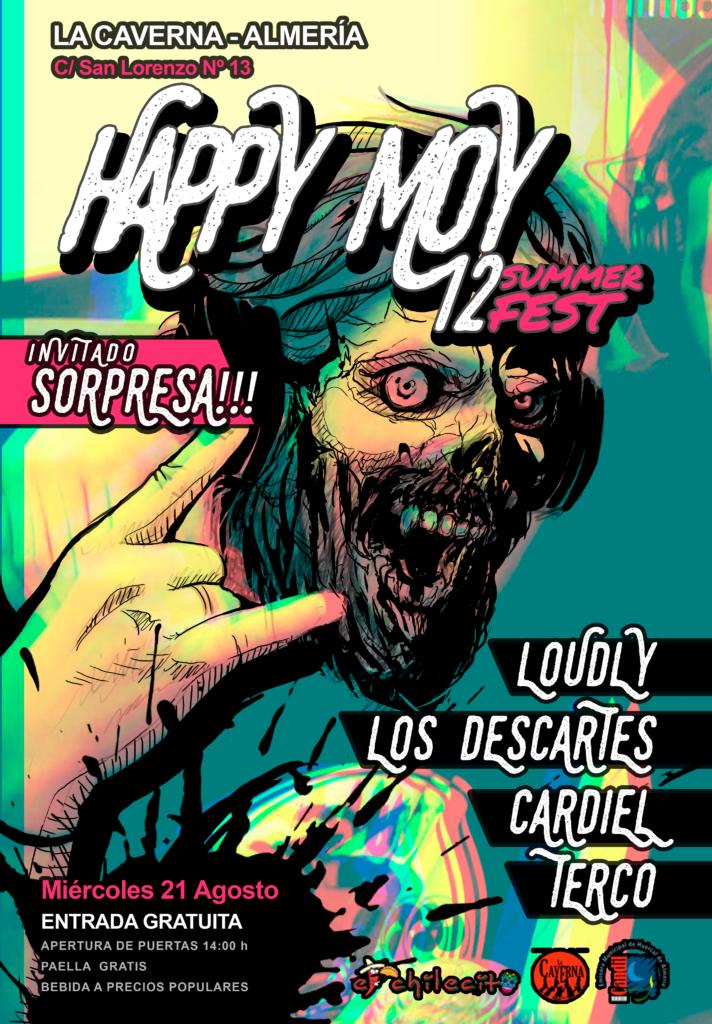 Cartel del Happy Moy Fest