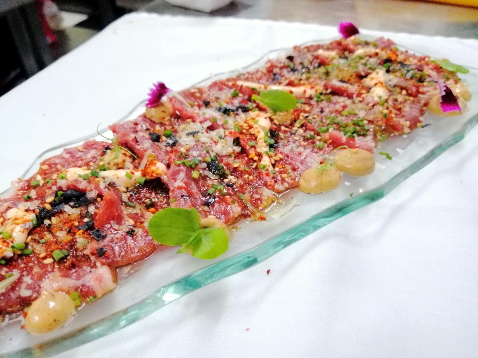 Sashimi de presa joselito - Restaurante Travieso