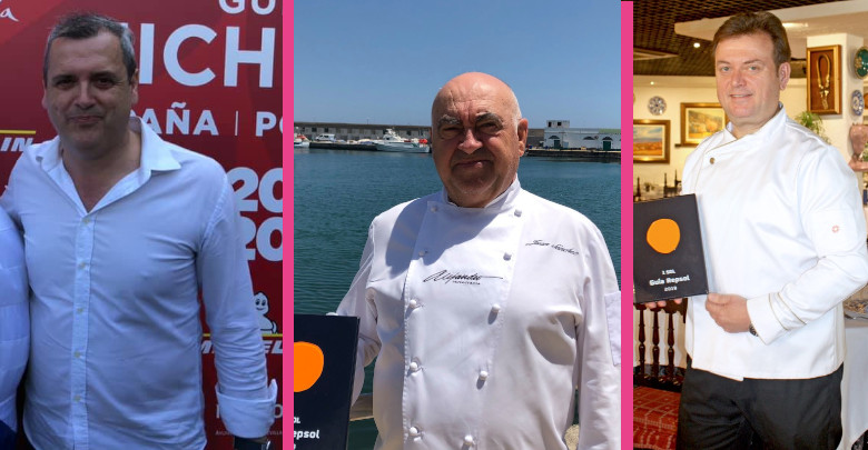 Tres chefs almerienses en Andalucía Sabor