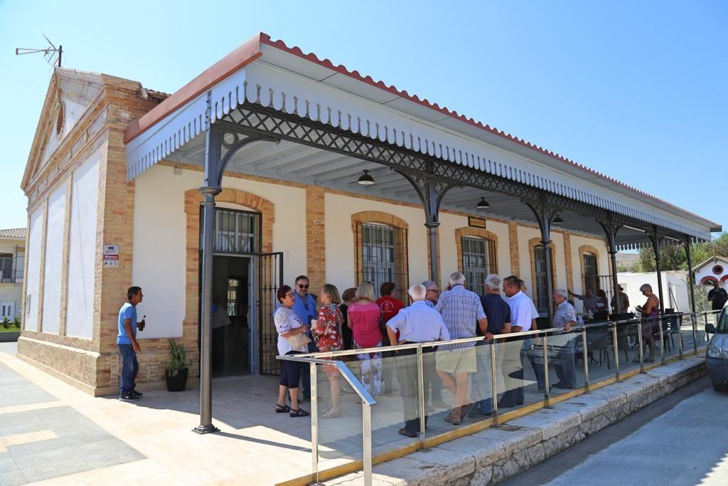 Exterior Estación de Almanzora