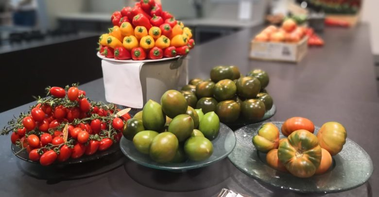 Hortalizas de Invernadero en Tony García restaurante