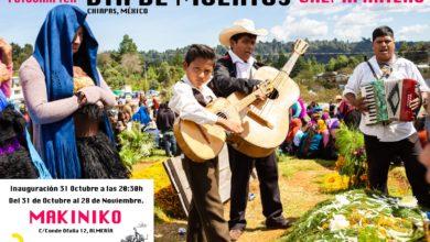 Photo of Chema Artero trae el Día de Muertos de Chiapas a Almería en 20 fotos