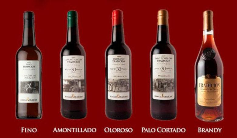 vinos viejos de jerez