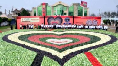 Photo of 20 toneladas de hortalizas para un corazón de récord Guinness