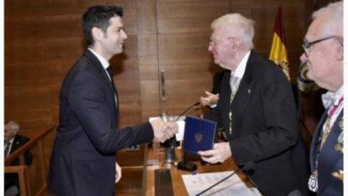Photo of Ramón González recibe la Medalla de la Real Academia de Ingeniería de España
