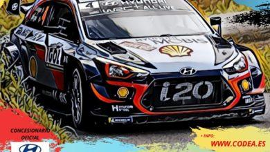 Photo of 30 pilotos participan el domingo en el V Rally Crono de Cantoria