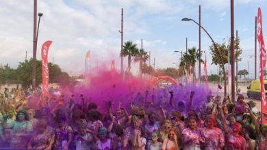 Photo of La carrera de colores Holi Life vuelve a Almería por tercera ocasión