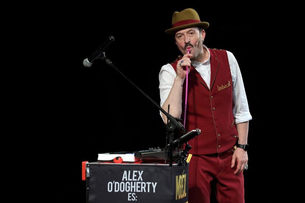 Alex O'Dogherty en Almería. Foto Jesús Amat.