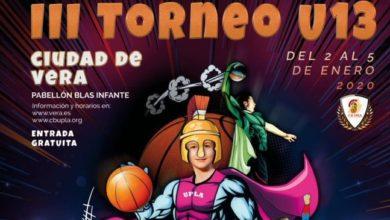 Photo of Vera acoge la III edición del Torneo Nacional de Baloncesto U13